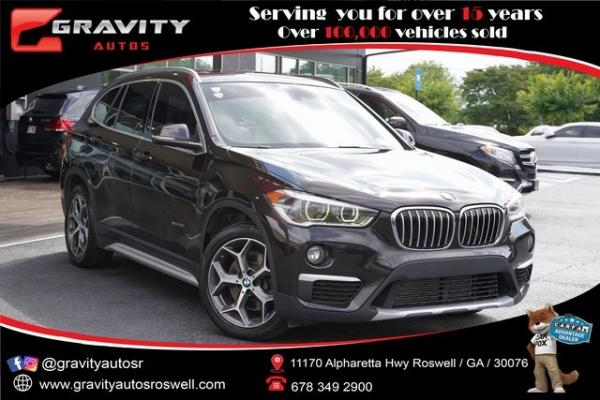Used 2016 BMW X1 xDrive28i for sale $22,992 at Gravity Autos Roswell in Roswell GA