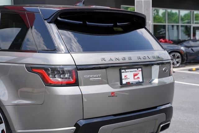Used 2019 Land Rover Range Rover Sport Supercharged for sale $79,891 at Gravity Autos Roswell in Roswell GA 30076 15