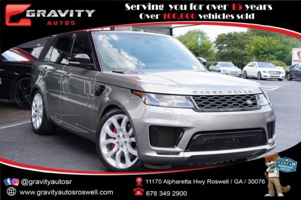 Used 2019 Land Rover Range Rover Sport Supercharged for sale $79,891 at Gravity Autos Roswell in Roswell GA