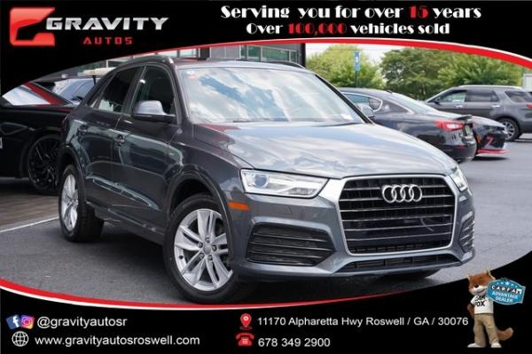 Used 2018 Audi Q3 2.0T Premium for sale $27,992 at Gravity Autos Roswell in Roswell GA