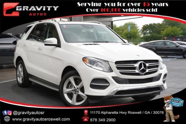 Used 2018 Mercedes-Benz GLE GLE 350 for sale $33,992 at Gravity Autos Roswell in Roswell GA