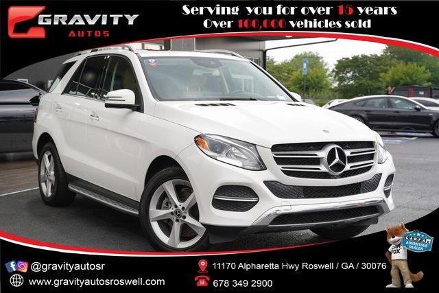 Used 2018 Mercedes-Benz GLE GLE 350 for sale $32,991 at Gravity Autos Roswell in Roswell GA 30076 1