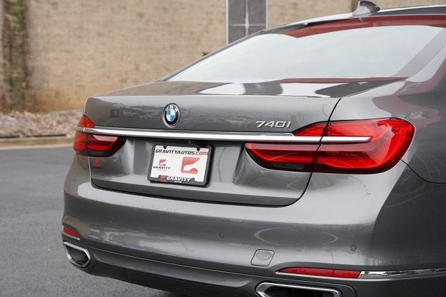 Used 2019 BMW 7 Series 740i for sale $51,991 at Gravity Autos Roswell in Roswell GA 30076 14