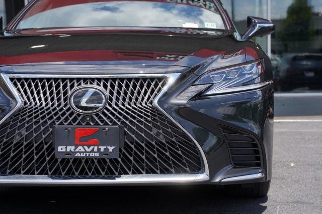 Used 2018 Lexus LS 500 Base for sale $61,491 at Gravity Autos Roswell in Roswell GA 30076 10