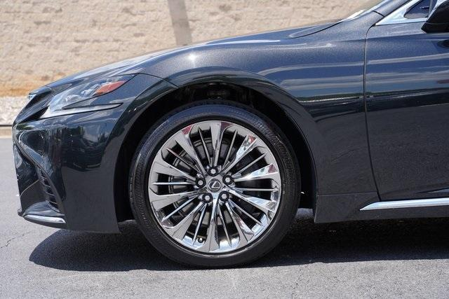 Used 2018 Lexus LS 500 Base for sale $61,491 at Gravity Autos Roswell in Roswell GA 30076 11