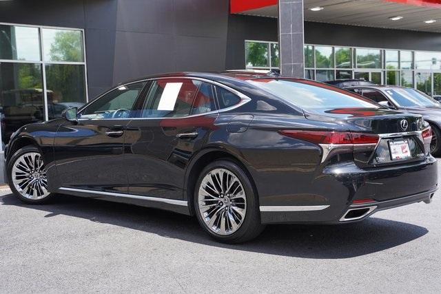Used 2018 Lexus LS 500 Base for sale $61,491 at Gravity Autos Roswell in Roswell GA 30076 13