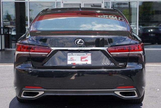 Used 2018 Lexus LS 500 Base for sale $61,491 at Gravity Autos Roswell in Roswell GA 30076 14