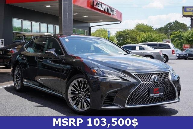 Used 2018 Lexus LS 500 Base for sale $61,491 at Gravity Autos Roswell in Roswell GA 30076 2