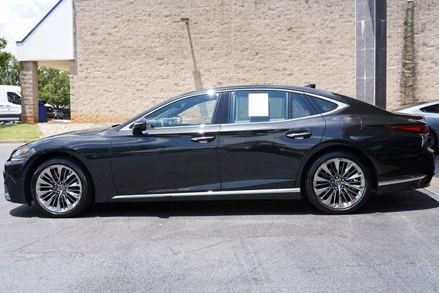 Used 2018 Lexus LS 500 Base for sale $61,491 at Gravity Autos Roswell in Roswell GA 30076 4