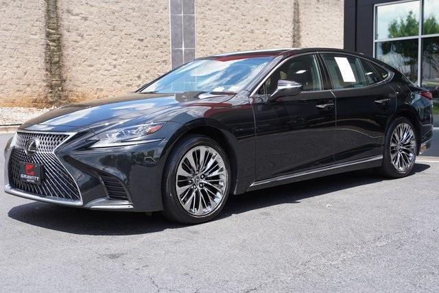 Used 2018 Lexus LS 500 Base for sale $61,491 at Gravity Autos Roswell in Roswell GA 30076 5