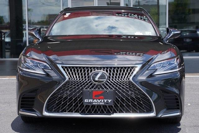 Used 2018 Lexus LS 500 Base for sale $61,491 at Gravity Autos Roswell in Roswell GA 30076 6
