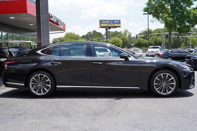 Used 2018 Lexus LS 500 Base for sale $61,491 at Gravity Autos Roswell in Roswell GA 30076 8