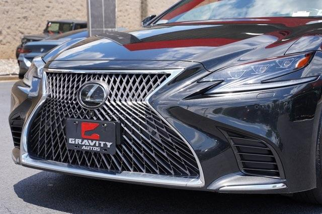 Used 2018 Lexus LS 500 Base for sale $61,491 at Gravity Autos Roswell in Roswell GA 30076 9