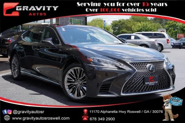 Used 2018 Lexus LS 500 Base for sale $61,491 at Gravity Autos Roswell in Roswell GA