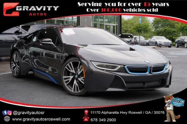 Used 2016 BMW i8 Base for sale $78,996 at Gravity Autos Roswell in Roswell GA