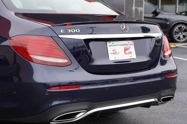Used 2017 Mercedes-Benz E-Class E 300 for sale $35,991 at Gravity Autos Roswell in Roswell GA 30076 14