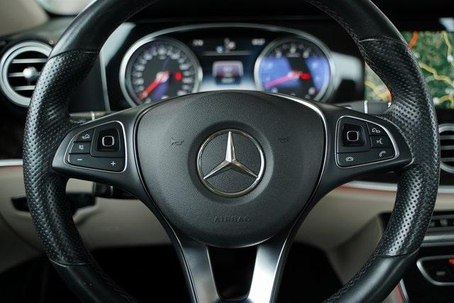Used 2017 Mercedes-Benz E-Class E 300 for sale $35,991 at Gravity Autos Roswell in Roswell GA 30076 19