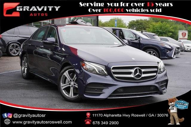 Used 2017 Mercedes-Benz E-Class E 300 for sale $35,991 at Gravity Autos Roswell in Roswell GA 30076 1