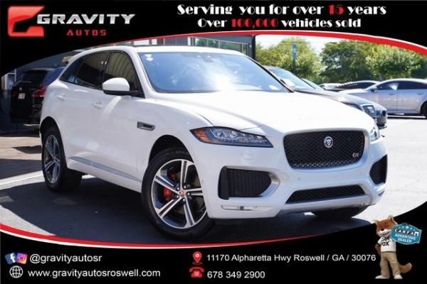 Used 2020 Jaguar F-PACE S for sale $54,996 at Gravity Autos Roswell in Roswell GA