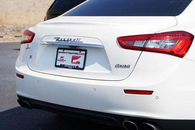 Used 2017 Maserati Ghibli S for sale $38,796 at Gravity Autos Roswell in Roswell GA 30076 14