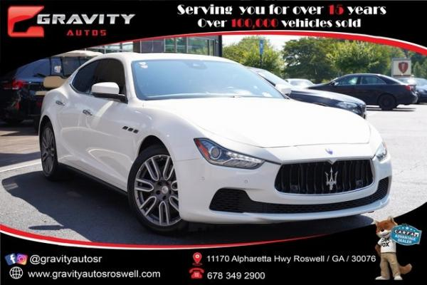 Used 2017 Maserati Ghibli S for sale $40,996 at Gravity Autos Roswell in Roswell GA