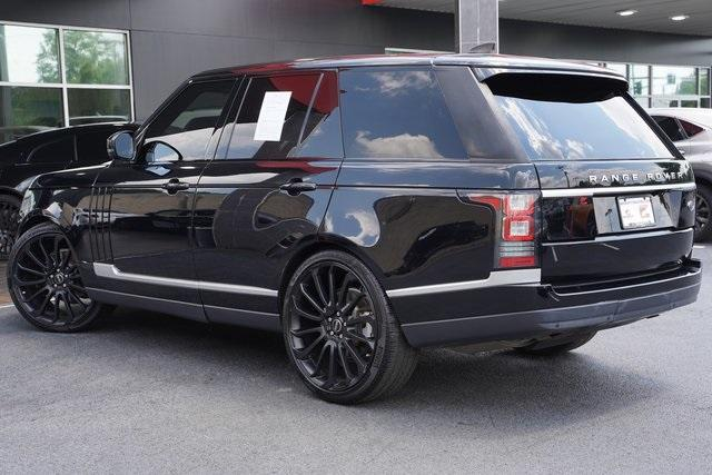 Used 2017 Land Rover Range Rover 3.0L V6 Turbocharged Diesel Td6 for sale $55,996 at Gravity Autos Roswell in Roswell GA 30076 11