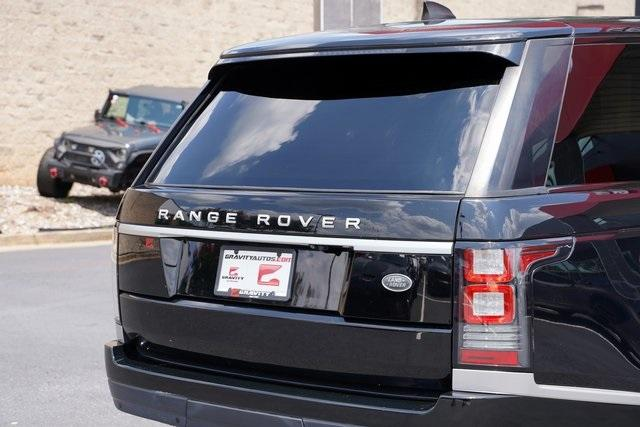 Used 2017 Land Rover Range Rover 3.0L V6 Turbocharged Diesel Td6 for sale $55,996 at Gravity Autos Roswell in Roswell GA 30076 14