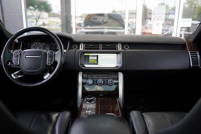 Used 2017 Land Rover Range Rover 3.0L V6 Turbocharged Diesel Td6 for sale $55,996 at Gravity Autos Roswell in Roswell GA 30076 15