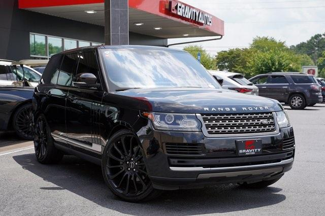Used 2017 Land Rover Range Rover 3.0L V6 Turbocharged Diesel Td6 for sale $55,996 at Gravity Autos Roswell in Roswell GA 30076 2