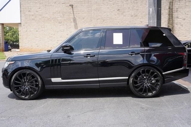 Used 2017 Land Rover Range Rover 3.0L V6 Turbocharged Diesel Td6 for sale $55,996 at Gravity Autos Roswell in Roswell GA 30076 4