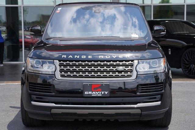 Used 2017 Land Rover Range Rover 3.0L V6 Turbocharged Diesel Td6 for sale $55,996 at Gravity Autos Roswell in Roswell GA 30076 6