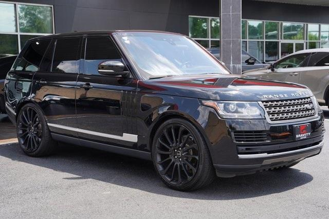 Used 2017 Land Rover Range Rover 3.0L V6 Turbocharged Diesel Td6 for sale $55,996 at Gravity Autos Roswell in Roswell GA 30076 7