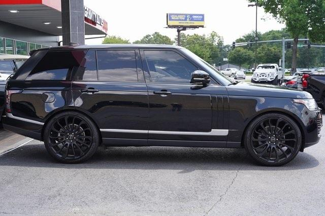 Used 2017 Land Rover Range Rover 3.0L V6 Turbocharged Diesel Td6 for sale $55,996 at Gravity Autos Roswell in Roswell GA 30076 8