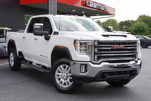Used 2021 GMC Sierra 2500HD SLT for sale $76,991 at Gravity Autos Roswell in Roswell GA 30076 2