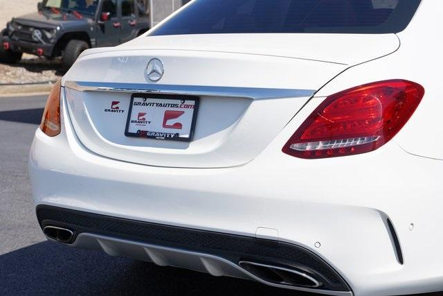 Used 2016 Mercedes-Benz C-Class C 450 AMG for sale $35,991 at Gravity Autos Roswell in Roswell GA 30076 14