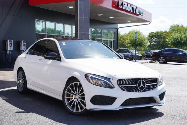 Used 2016 Mercedes-Benz C-Class C 450 AMG for sale $35,991 at Gravity Autos Roswell in Roswell GA 30076 2