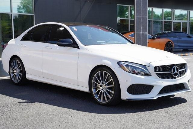Used 2016 Mercedes-Benz C-Class C 450 AMG for sale $35,991 at Gravity Autos Roswell in Roswell GA 30076 7