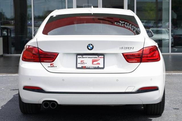 Used 2018 BMW 4 Series 430i Gran Coupe for sale Sold at Gravity Autos Roswell in Roswell GA 30076 12