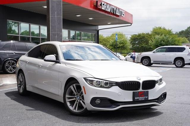 Used 2018 BMW 4 Series 430i Gran Coupe for sale Sold at Gravity Autos Roswell in Roswell GA 30076 2