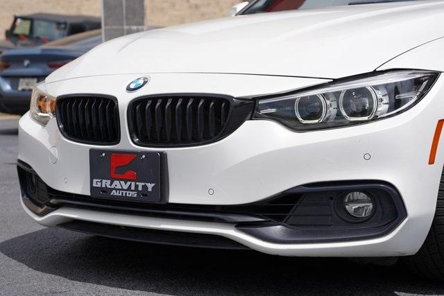 Used 2018 BMW 4 Series 430i Gran Coupe for sale Sold at Gravity Autos Roswell in Roswell GA 30076 9