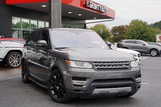 Used 2016 Land Rover Range Rover Sport HSE Td6 for sale $43,991 at Gravity Autos Roswell in Roswell GA 30076 2