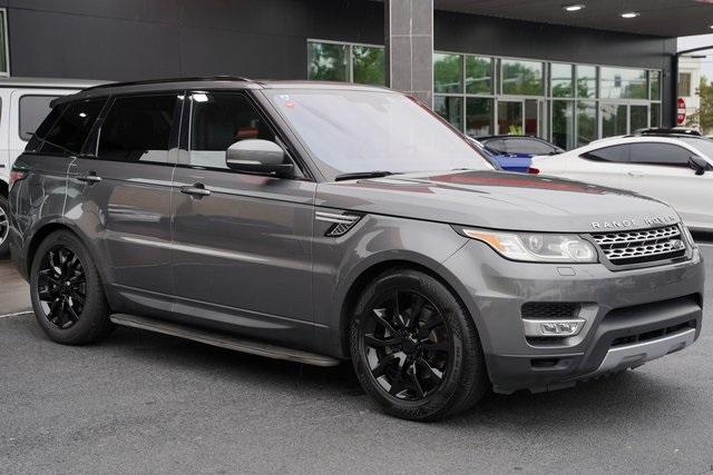 Used 2016 Land Rover Range Rover Sport HSE Td6 for sale $43,991 at Gravity Autos Roswell in Roswell GA 30076 7