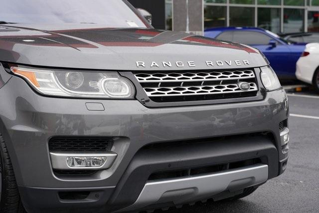 Used 2016 Land Rover Range Rover Sport HSE Td6 for sale $43,991 at Gravity Autos Roswell in Roswell GA 30076 9