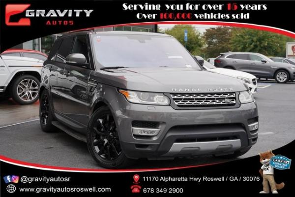 Used 2016 Land Rover Range Rover Sport HSE Td6 for sale $43,991 at Gravity Autos Roswell in Roswell GA