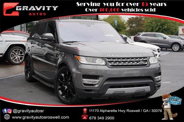 Used 2016 Land Rover Range Rover Sport HSE Td6 for sale $43,991 at Gravity Autos Roswell in Roswell GA 30076 1