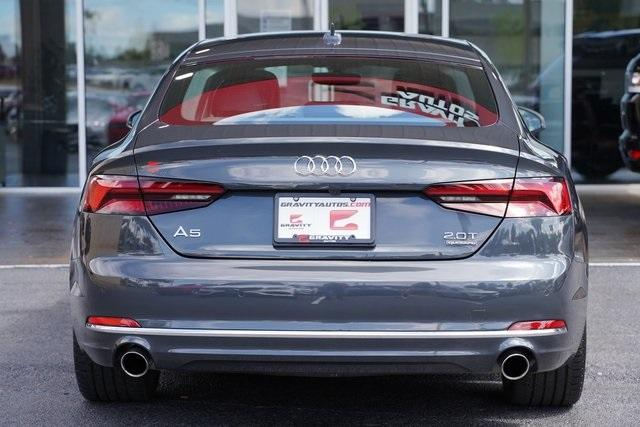 Used 2018 Audi A5 2.0T Premium Plus for sale $37,291 at Gravity Autos Roswell in Roswell GA 30076 12