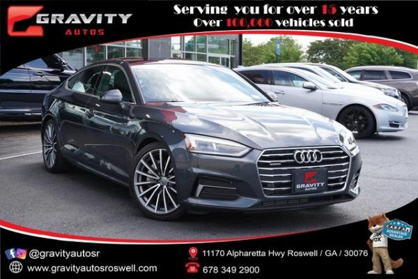 Used 2018 Audi A5 2.0T Premium Plus for sale $36,492 at Gravity Autos Roswell in Roswell GA