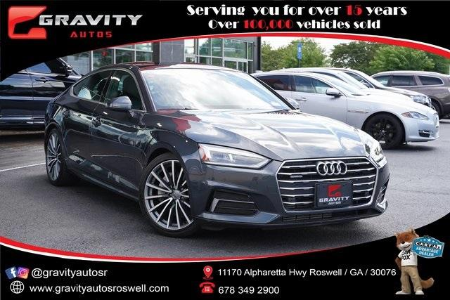Used 2018 Audi A5 2.0T Premium Plus for sale $37,291 at Gravity Autos Roswell in Roswell GA 30076 1