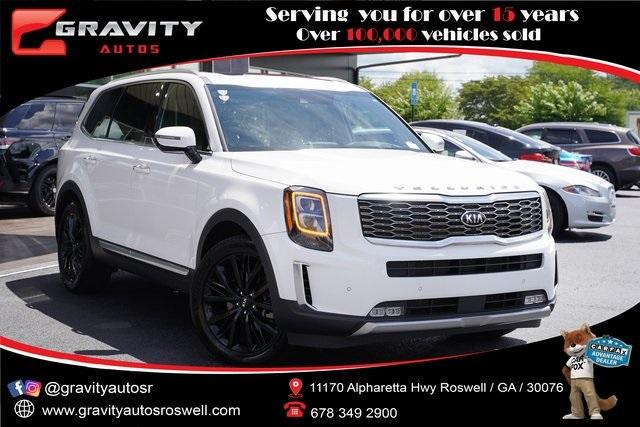 Used 2020 Kia Telluride SX for sale $54,992 at Gravity Autos Roswell in Roswell GA 30076 1