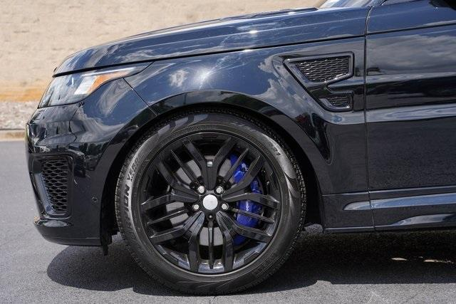 Used 2016 Land Rover Range Rover Sport 5.0L V8 Supercharged SVR for sale $62,991 at Gravity Autos Roswell in Roswell GA 30076 10